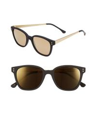 Komono | Black 'renee' 50mm Sunglasses for Men | Lyst