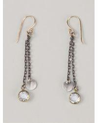 Dosa | Metallic Drop Earrings | Lyst