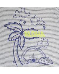 Stella McCartney   White Arlo Aloha T-Shirt   Lyst