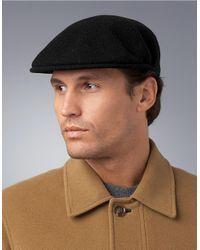 Kangol | Black Wool Driver Cap for Men | Lyst