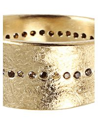 Todd Reed | Metallic Center Line Ring | Lyst