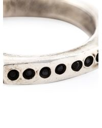 Henson - Metallic Diamond Band Ring for Men - Lyst