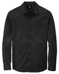 Volcom | Black Everett Solid Shirt for Men | Lyst
