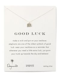 Dogeared - Blue Good Luck Necklace for Men - Lyst