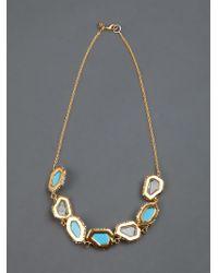 Alexis Bittar | Metallic Crystal Necklace | Lyst