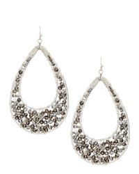 Nakamol - Metallic Crystal Teardrop Earrings  - Lyst