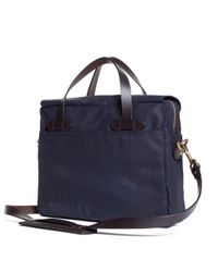 Brooks Brothers - Blue Exclusive For Filson® Tin Cloth Briefcase for Men - Lyst