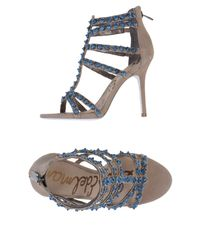 Sam Edelman | Gray Sandals | Lyst