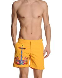 Orlebar Brown | Brown Swimming Trunk for Men | Lyst