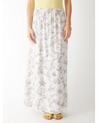 Alternative Apparel - Gray Haiku Taki Wash Maxi Skirt - Lyst