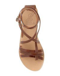Ancient Greek Sandals - Brown Satira In Cotto - Lyst