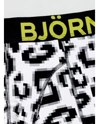 Björn Borg - Gray Leopard Boxer Shorts for Men - Lyst