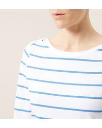 Hobbs | Blue Millie T Shirt | Lyst
