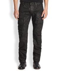 Ralph Lauren Black Label   Black Courier Cargo Pants for Men   Lyst