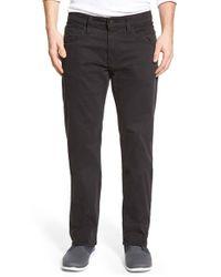 Mavi Jeans | Blue 'zach' Straight Leg Twill Pants for Men | Lyst