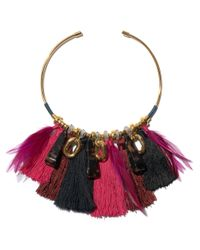 Lizzie Fortunato - Black Crimson Collar - Lyst