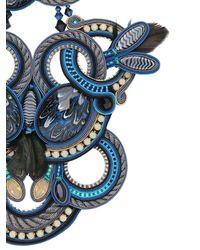 Dori Csengeri - Blue Icarus Necklace - Lyst