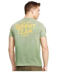 Polo Ralph Lauren   Green Climbing Graphic T-shirt for Men   Lyst