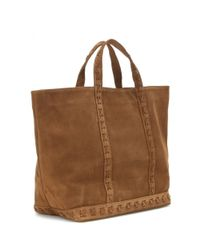 Vanessa Bruno - Brown Cabas Large Suede Shopper - Lyst