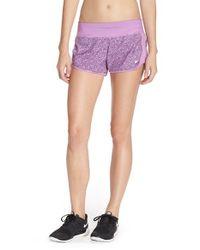 Nike | Purple Crew Dri-Fit Shorts | Lyst
