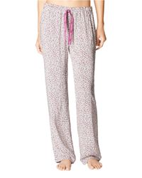 Calvin Klein | Pink Patterned Pajama Pants | Lyst