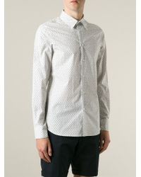 Marni - White Printed Shirt for Men - Lyst