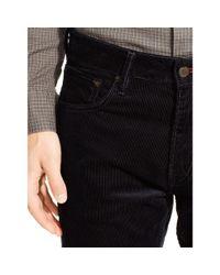 Ralph Lauren Black Label | Blue Slim-fit Stretch Corduroy Pant for Men | Lyst