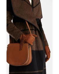 Karen Millen - Brown Fringe Glove - Lyst