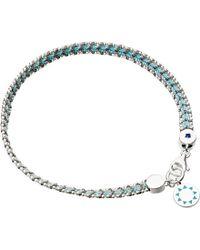 Astley Clarke | Blue Theirworld Charity Biography Bracelet | Lyst