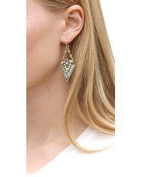Whistles - Metallic Lulu Frost For Arrow Earring - Lyst