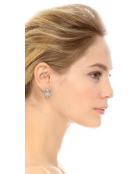 Alexis Bittar - Metallic Jagged Marquis Cluster Ear Jackets - Clear/silver - Lyst