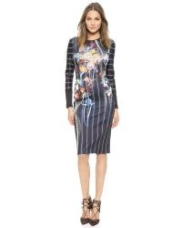 Clover Canyon - Multicolor George Bernard Shaw Dress - Multi - Lyst