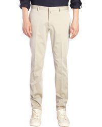 Fendi - Natural Twill Twobutton Suit for Men - Lyst