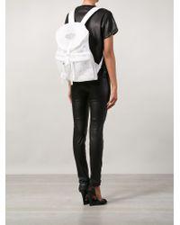 Off-White c/o Virgil Abloh - White Neoprene Rope Backpack - Lyst