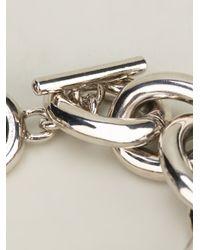 Givenchy - Metallic Logo Coin Bracelet - Lyst