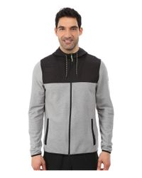 Under Armour - Gray Ua Coldgear® Infrared Survival Fleece Full Zip Hoodie for Men - Lyst