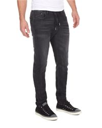 William Rast | Gray Jogger Jeans for Men | Lyst