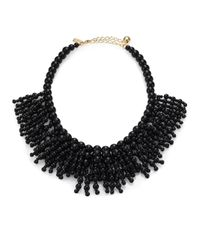 Kate Spade | Black Out Of Her Shell Long Necklace | Lyst