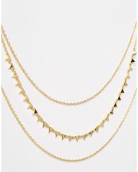 Gorjana | Metallic Multi Layered Necklace | Lyst