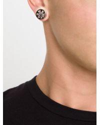 Hood By Air | Gray 'bullet' Magnetic Earrings for Men | Lyst