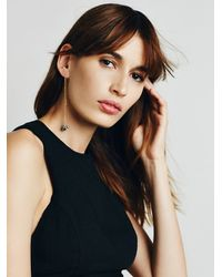 Free People | Metallic Womens Vine Threader Earring | Lyst