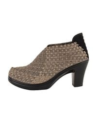 Bernie Mev | Metallic Chesca Woven Ankle Boots | Lyst