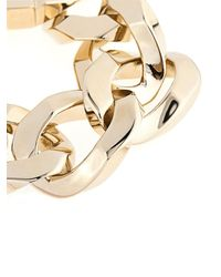 Givenchy - Metallic Oversized Chain Bracelet - Lyst