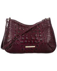 Brahmin   Purple Melbourne Ani Shoulder Bag   Lyst