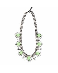 DANNIJO - Green Vonna Necklace - Lyst
