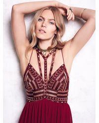 Free People - Purple Sacred Geometry Dress - Lyst