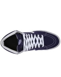 Vans - Blue Sk8-hi™ - Lyst