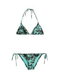 Proenza Schouler - Blue Printed Bikini - Lyst
