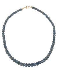 Uzerai Edits | Blue Rough Sapphire Necklace | Lyst