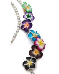 Venessa Arizaga - Multicolor Ooh La Lei Necklace - Lyst